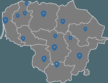 naudotos autodalys Vilniuje Kaune Klaipedoje Siauliuose Panevezyje Marijampoleje Alytuje Taurageje Telsiuose Utenoje